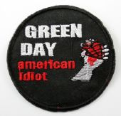 Green Day - 'American Idiot' Embroidered Patch